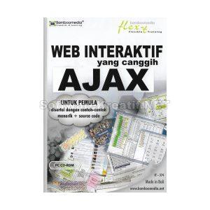 Bamboomedia CD Video Tutorial Web Interaktif Yang Canggih AJAX Untuk Pemula