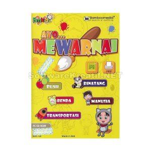 Bamboomedia Ayo Mewarnai – Game Edukasi Melatih Kreatifitas Anak Melalui Permainan Warna Yang Interaktif Dan Menyenangkan (Untuk Anak Usia Playgroup, TK Dan SD)