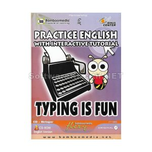 Bamboomedia CD Tutorial Interaktif : Typing Is Fun : Practice English With Interactive Tutorial – Untuk Anak TK – SD – SMP