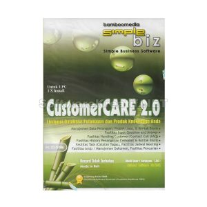 software database pelanggan customer care