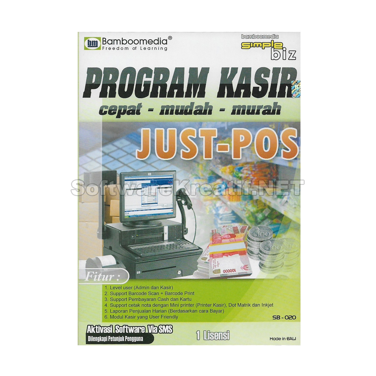 program kasir just pos