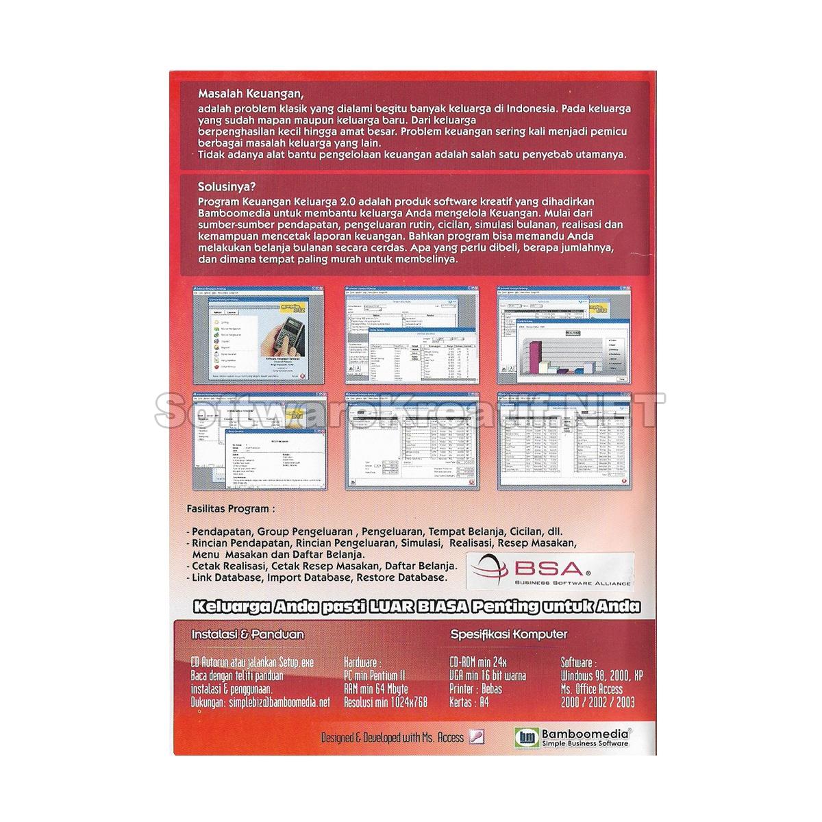 program aplikasi keuangan keluarga