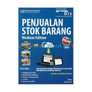 Bamboomedia Software Program Penjualan dan Stok Barang Medium Business Edition