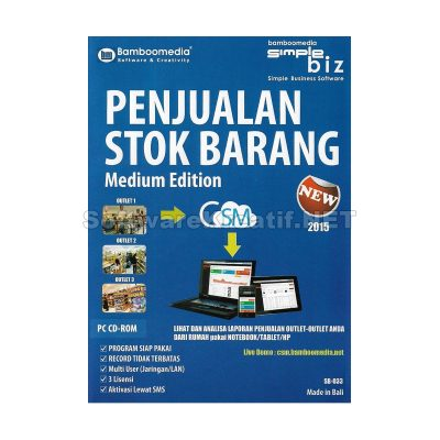 program penjualan dan stok barang medium edition