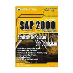 Bamboomedia CD Video Tutorial SAP 2000 Advanced 9.03 – Struktur Bangunan Dan Jembatan