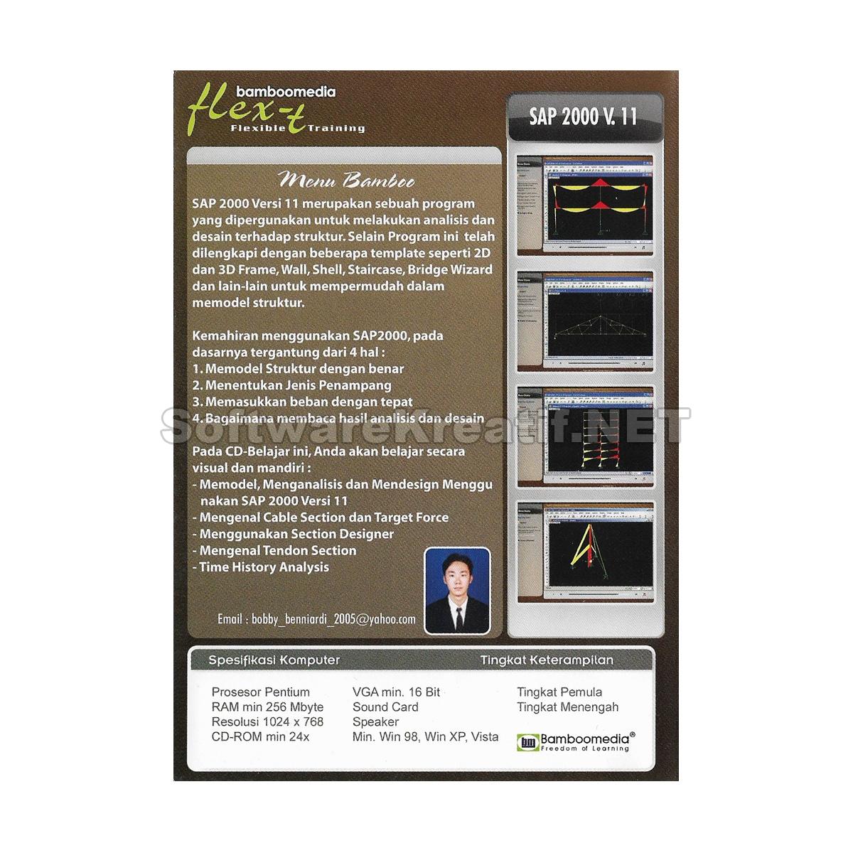 video tutorial sap 2000 versi 11