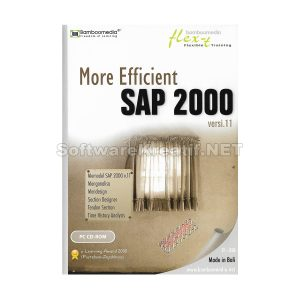 Bamboomedia CD Video Tutorial More Efficient SAP 2000 Versi 11 (PC CD-ROM)