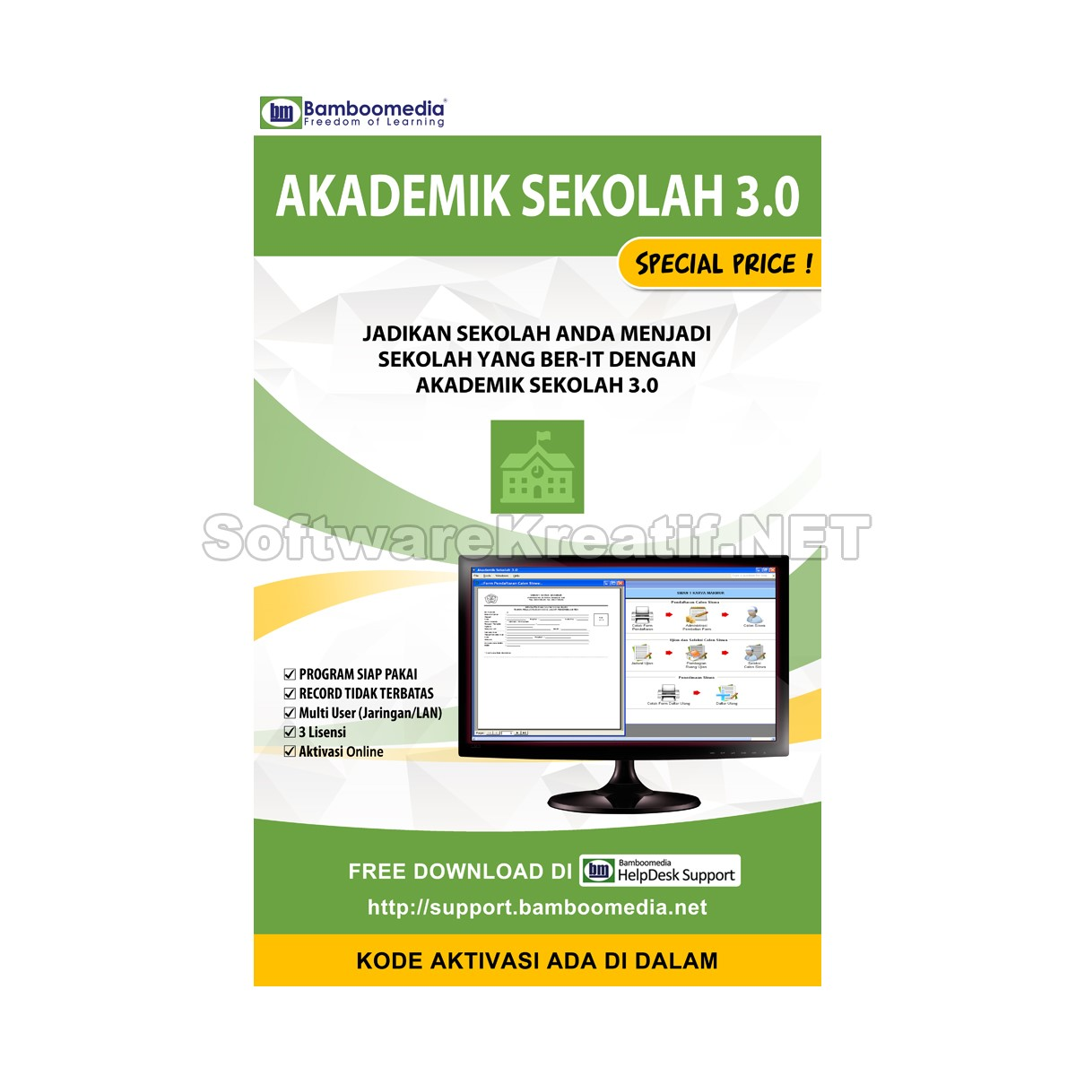 kotak baru akademik sekolah 3.0 lengkap