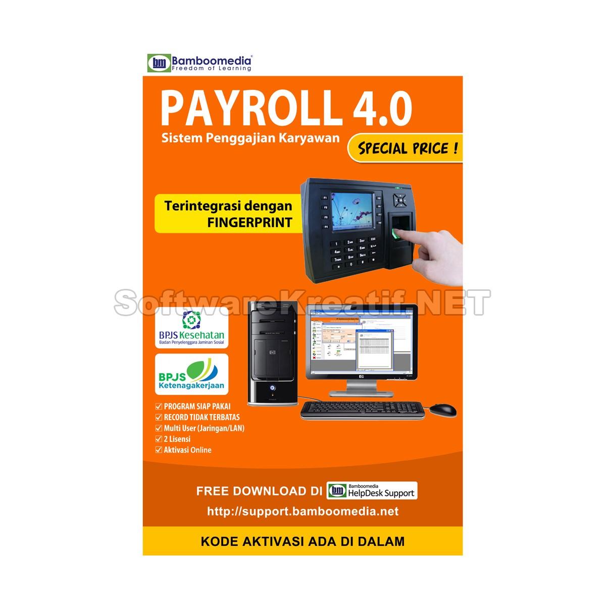 payroll 4.0 lengkap