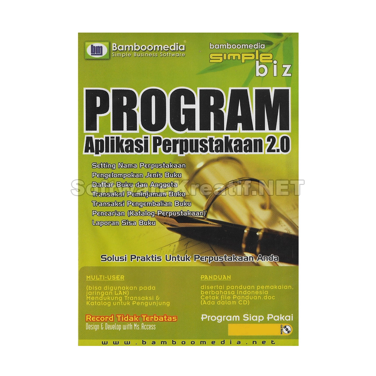 program aplikasi perpustakaan 2.0