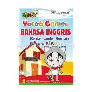 Bamboomedia Game Edukasi Anak Vocab Games Bahasa Inggris – Belajar Sambil Bermain Bersama Kiko