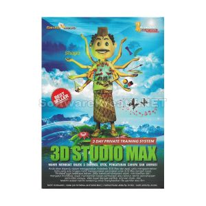 Garuda Media CD Video Tutorial 3D Studio Max – Mahir Membuat Objek 3 Dimensi, Efek, Pengaturan Cahaya Dan Animasi