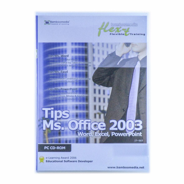 tutorial office 2003
