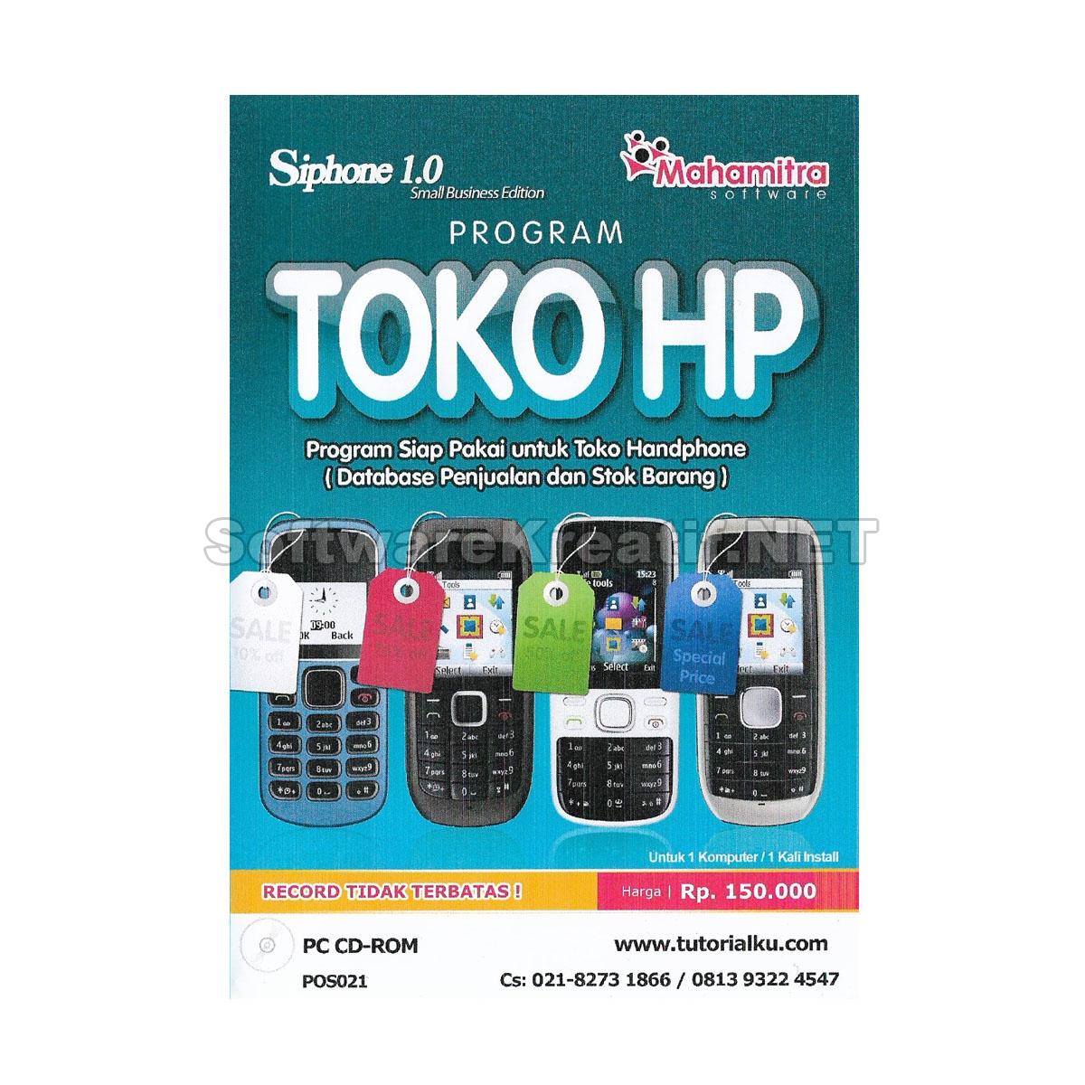 Program Toko HP Siphone 1.0