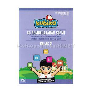 Kubixa CD Edukasi Kelas 2 KTSP (Untuk SD/MI) – PC CD-ROM