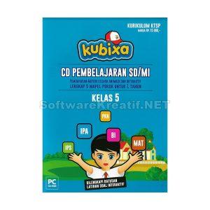 Kubixa CD Edukasi Kelas 5 KTSP (Untuk SD/MI) – PC CD-ROM